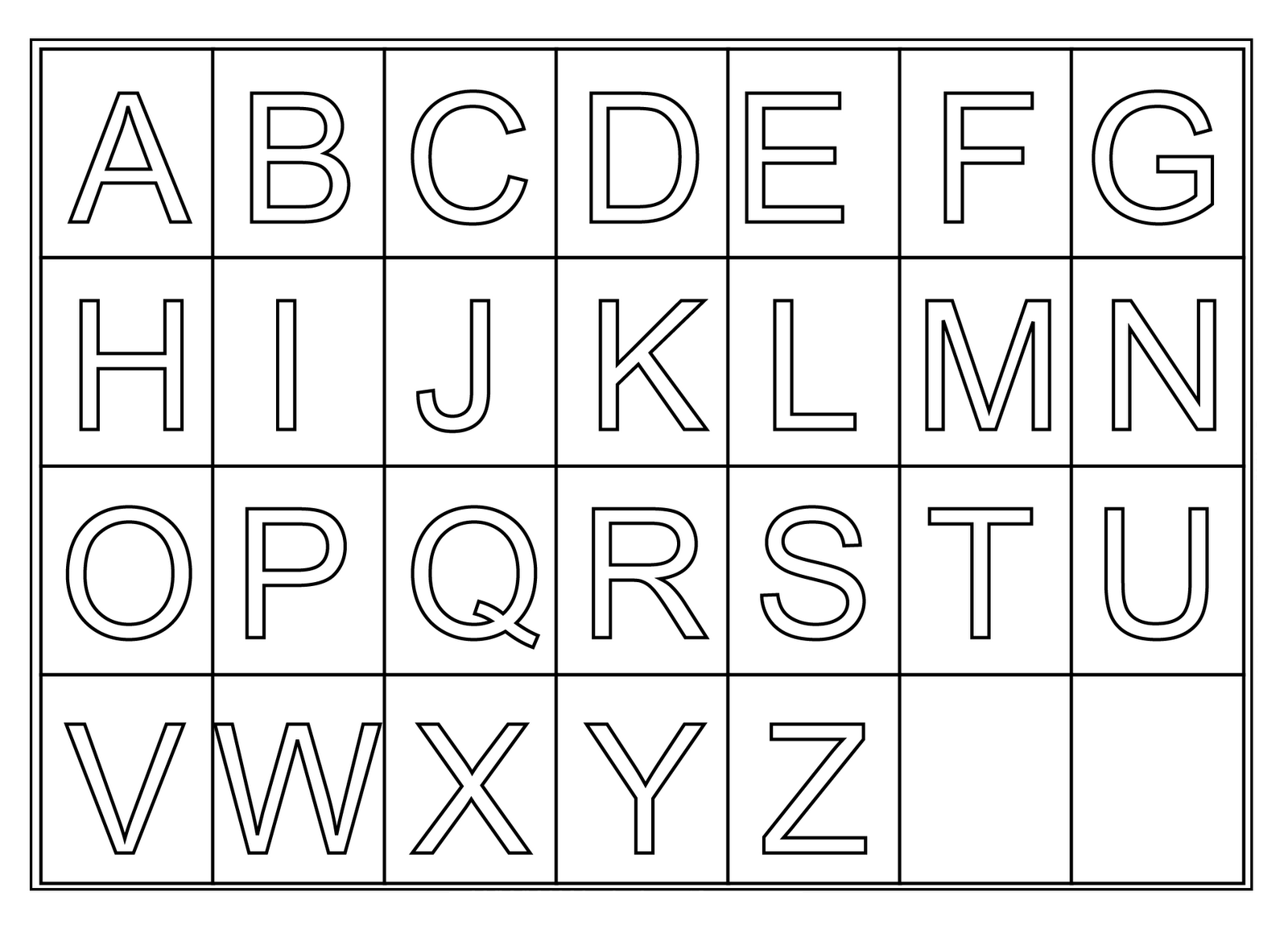 free coloring letters here39s a set of printable alphabet letters to download and letters free coloring