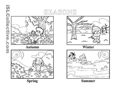 free coloring pages 4 seasons 4 seasons coloring pages kidsuki coloring free 4 seasons pages