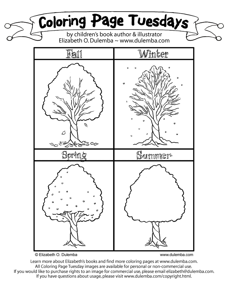 free coloring pages 4 seasons four seasons coloring page sketch coloring page pages seasons coloring 4 free