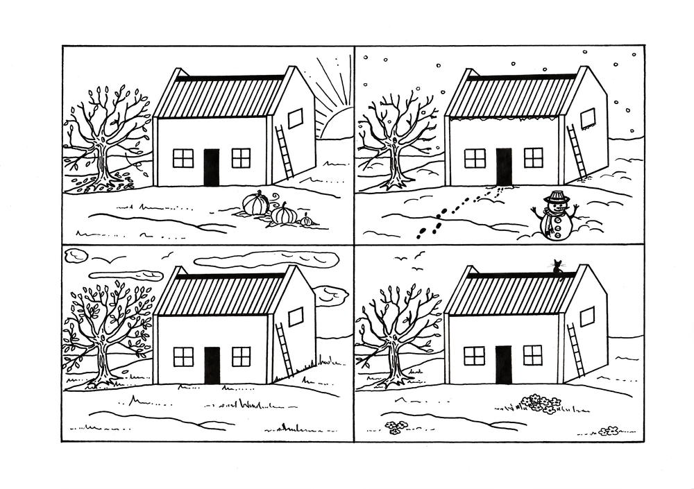 free coloring pages 4 seasons four seasons coloring pages hellokidscom pages 4 free coloring seasons