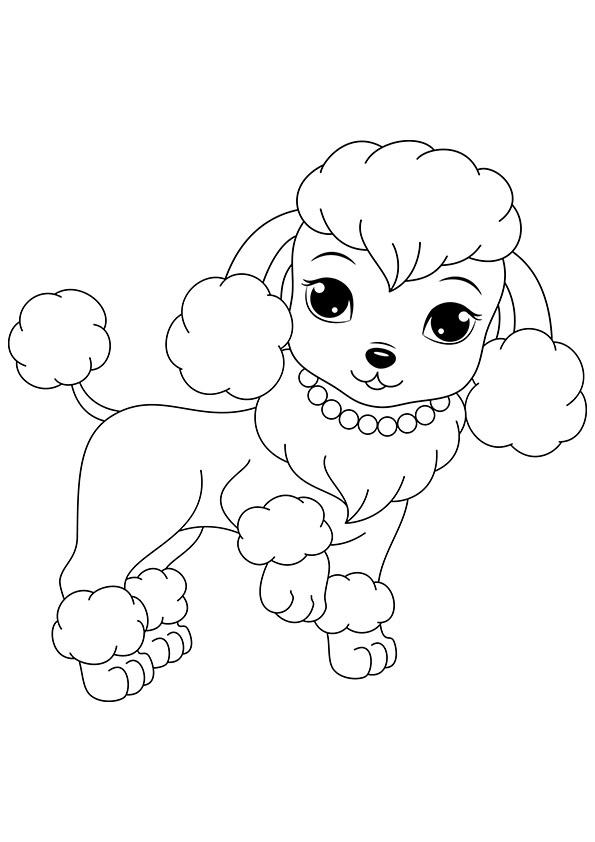 free coloring pages dog free printable dogs and puppies coloring pages for kids pages free dog coloring