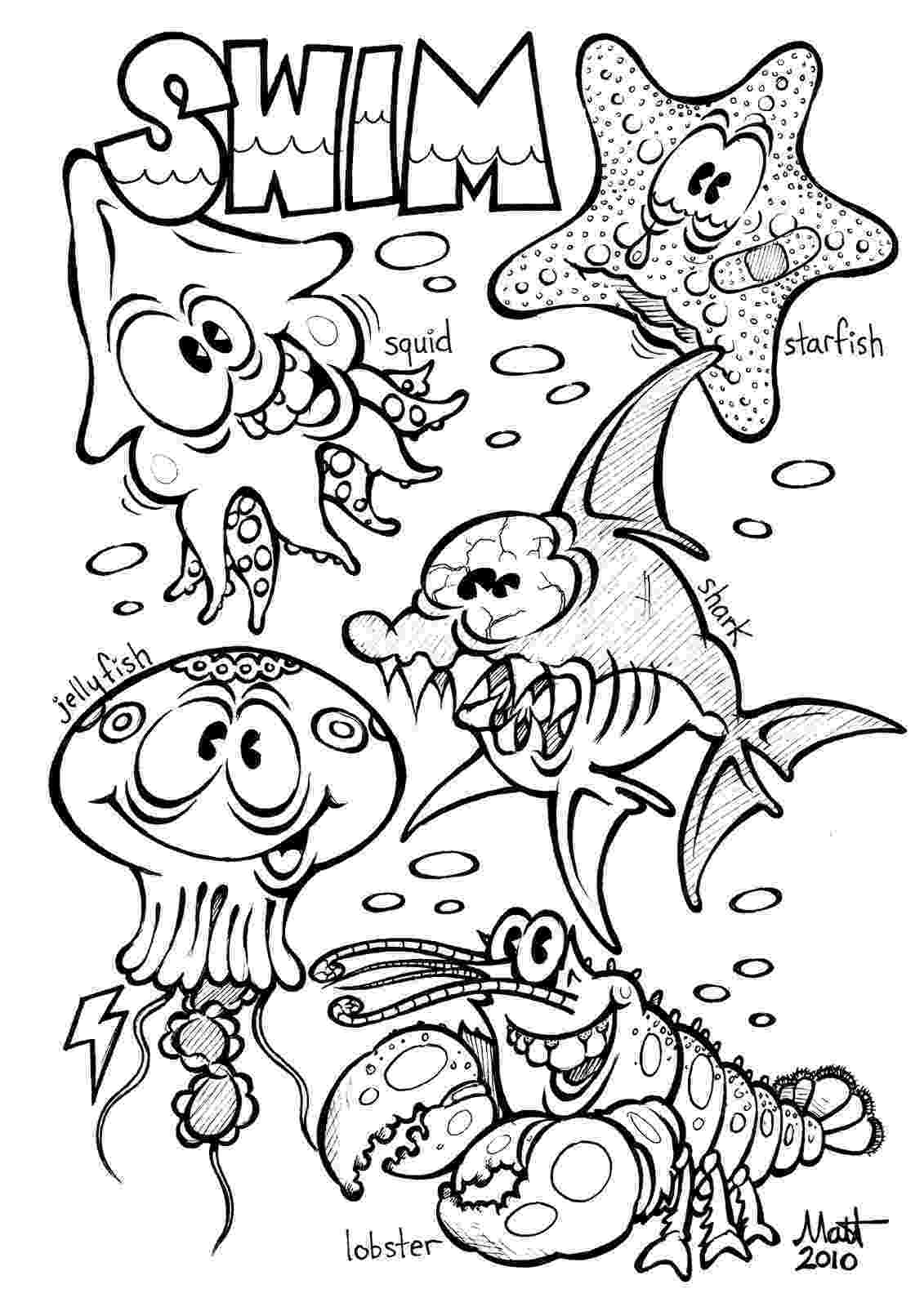 free coloring pages for children free printable ocean coloring pages for kids for children free coloring pages