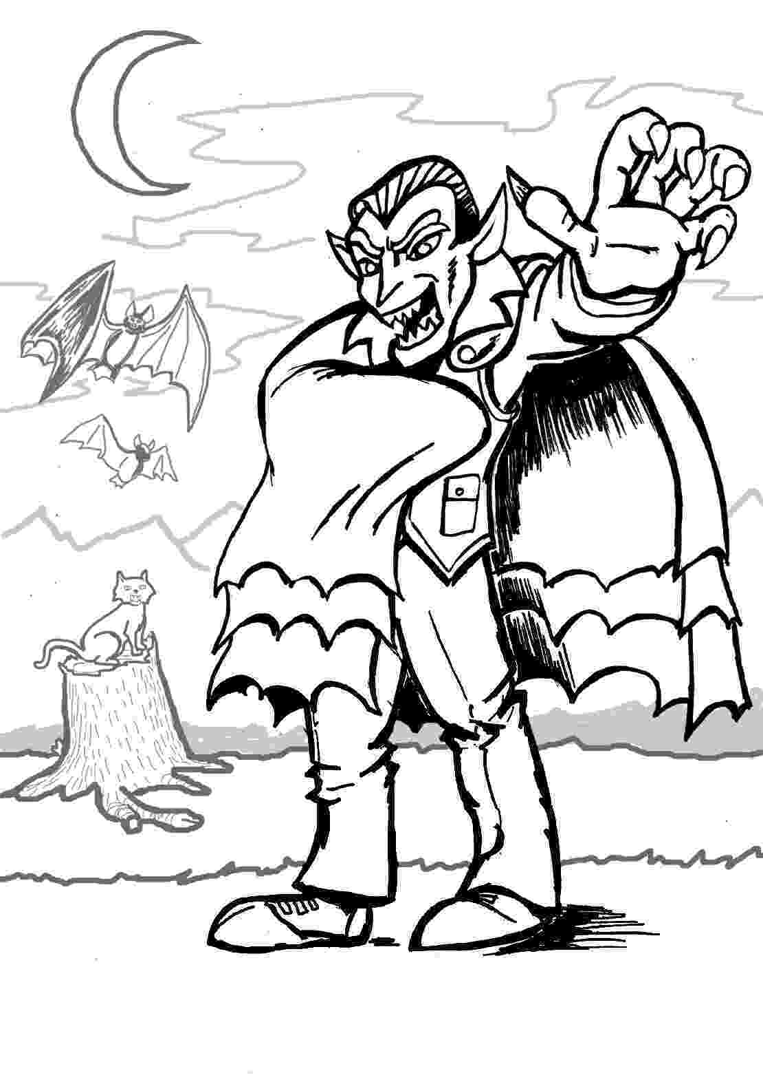 free coloring pages for children free printable vampire coloring pages for kids coloring children free for pages