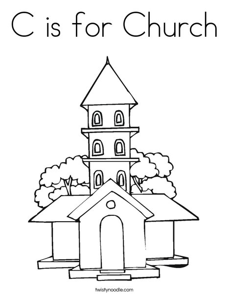 free coloring pages for childrens church c is for church coloring page twisty noodle pages church for free coloring childrens