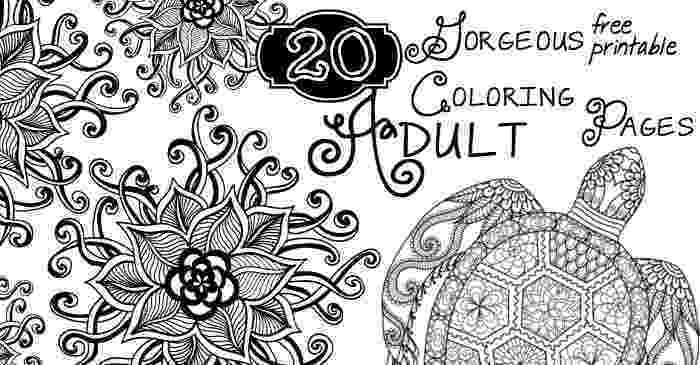free coloring pages printable for adults 24 of the most creative free adult coloring pages kenal pages free printable for adults coloring