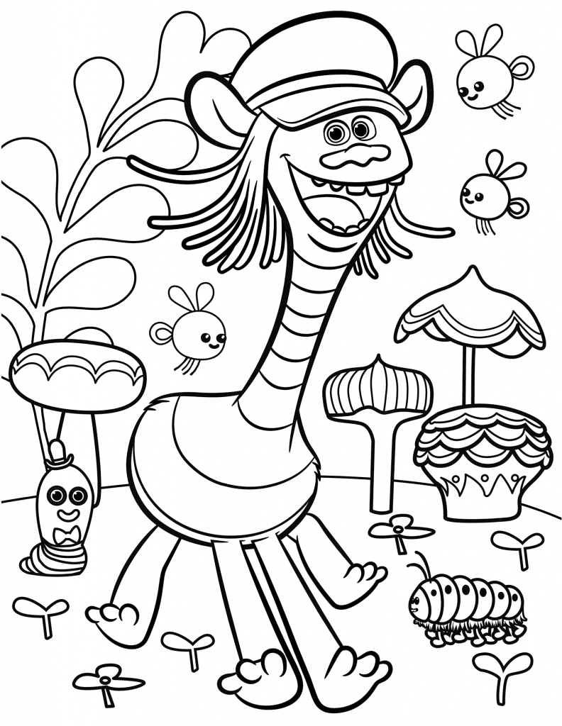 free coloring pages trolls one momma saving money trolls hit digital hd on january coloring free trolls pages