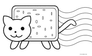 free coloring pictures of cats cute kitten coloring pages getcoloringpagescom pictures of coloring free cats