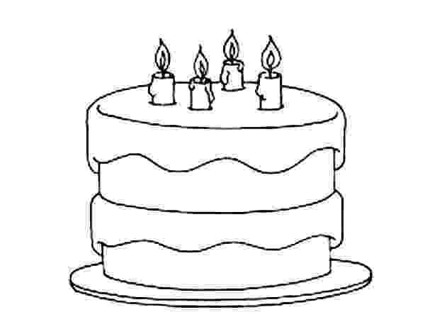 free colouring pages birthday cake birthday cake coloring pages netart cake free pages colouring birthday