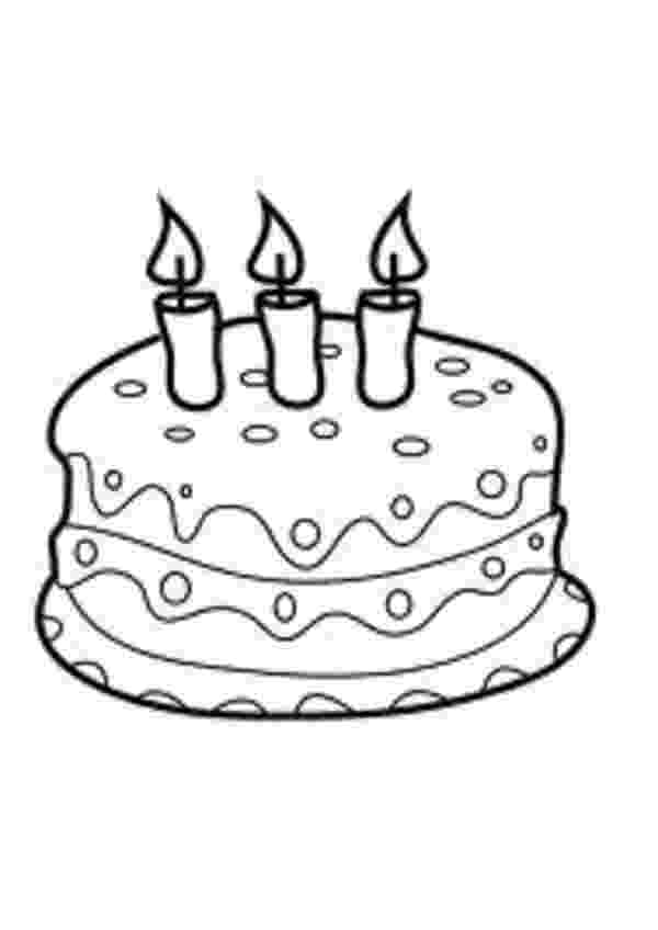 free colouring pages birthday cake free printable birthday cake coloring pages for kids birthday cake colouring free pages