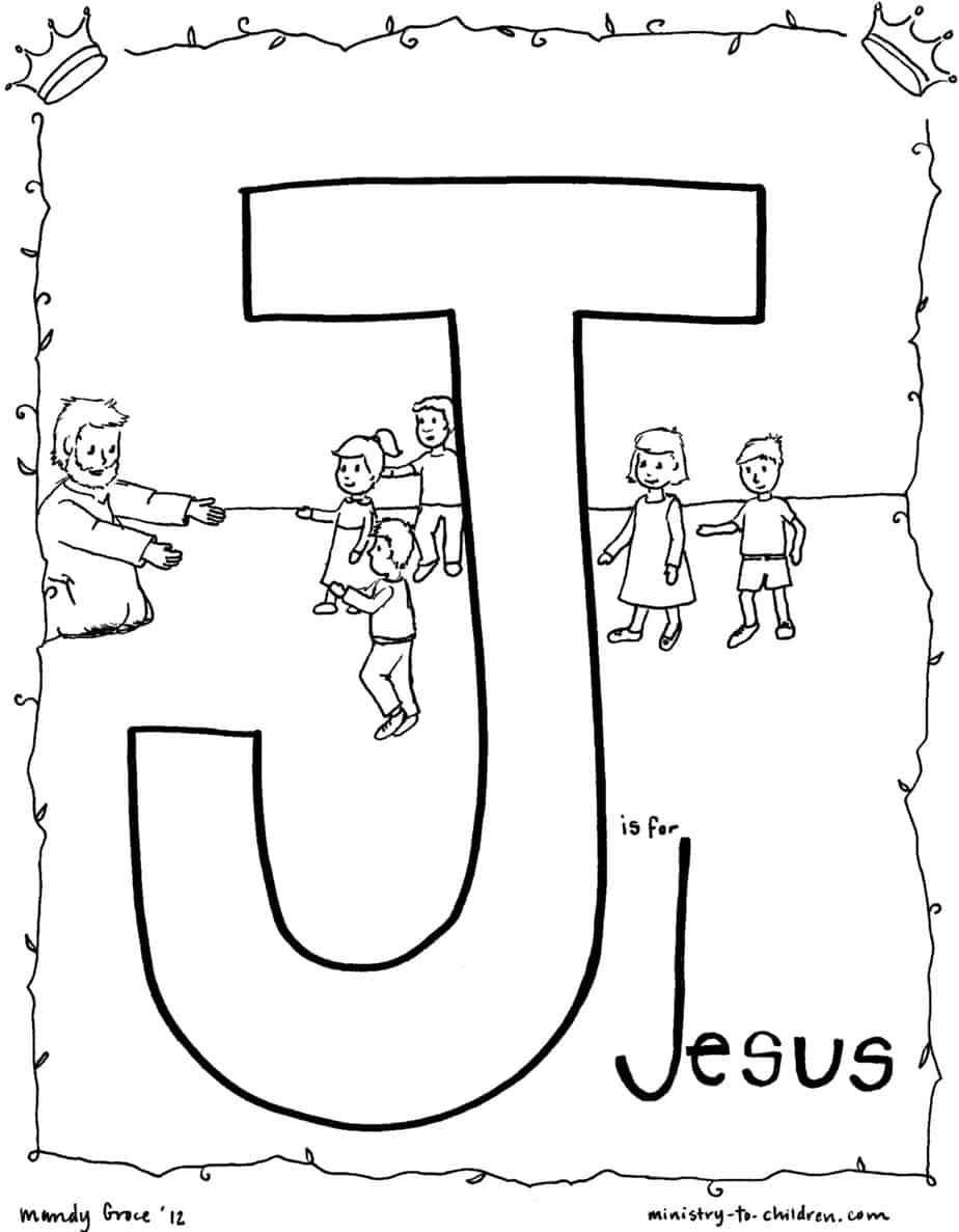 free colouring pages jesus j is for jesus bible alphabet coloring page colouring free jesus pages