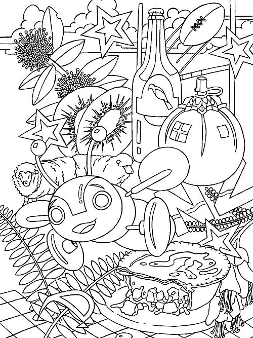 free colouring pages nz 8 best nz colouring pages images in 2015 coloring pages pages nz colouring free