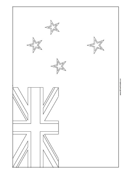 free colouring pages nz new zealand flag coloring page flag coloring pages new colouring nz pages free