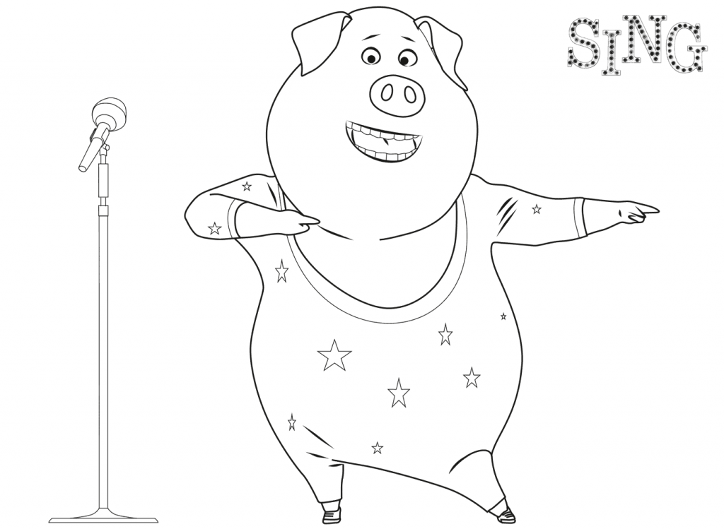 free colouring pages sing sing coloring pages best coloring pages for kids free pages sing colouring
