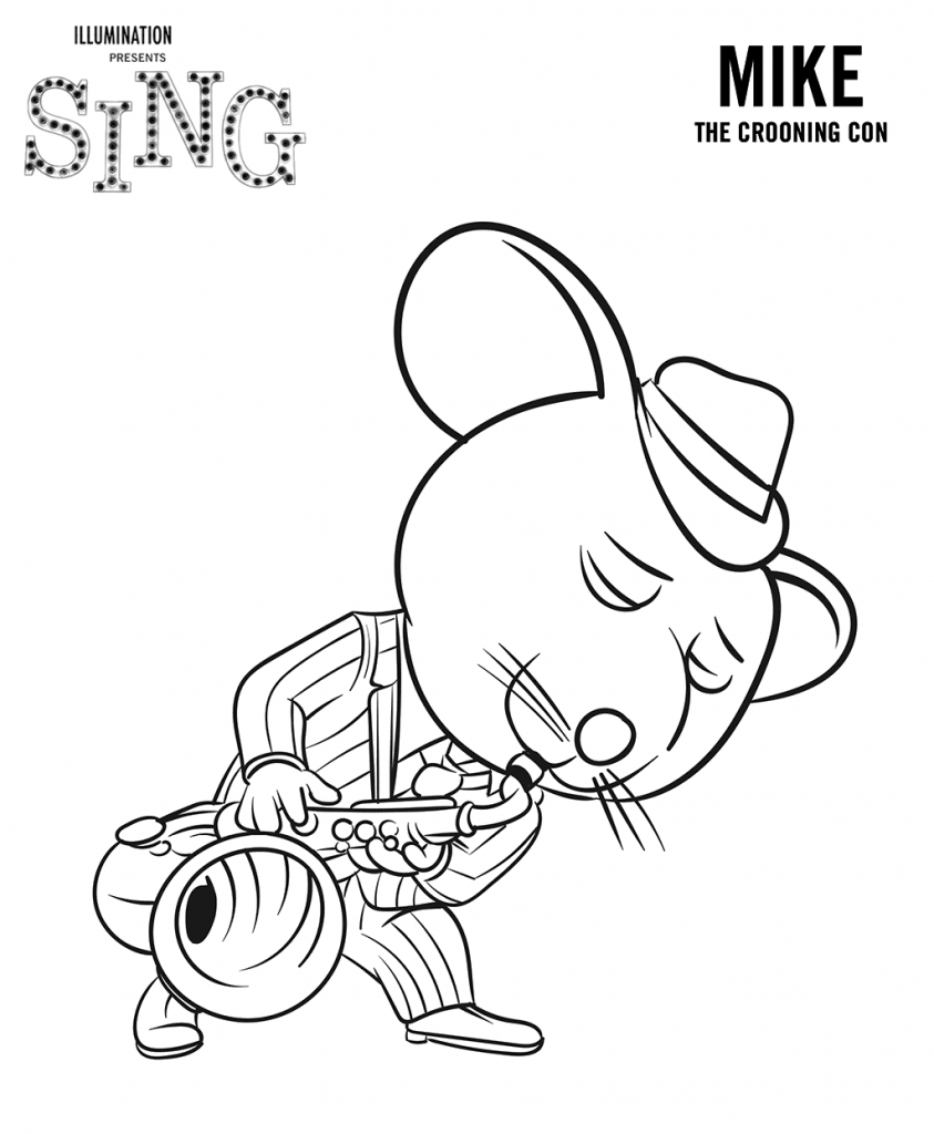 free colouring pages sing sing coloring pages best coloring pages for kids sing colouring pages free