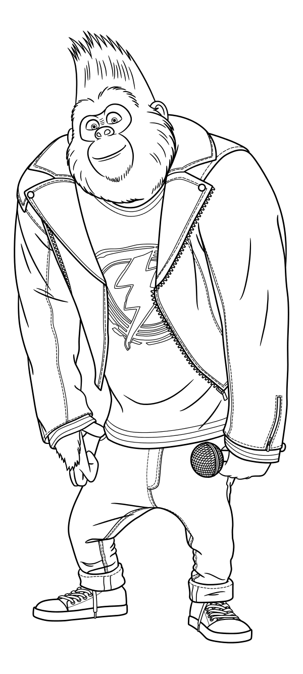 free colouring pages sing sing movie coloring pages getcoloringpagescom colouring sing free pages