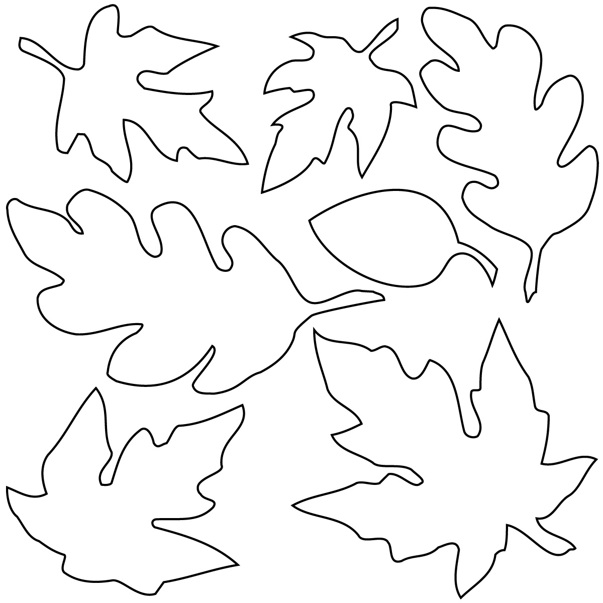 free colouring pictures autumn leaves fall coloring pages for young children free instant download autumn free pictures colouring leaves