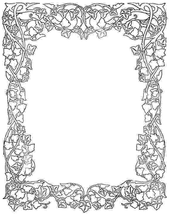 free design art coloring pages flower clipart etc art coloring design free pages