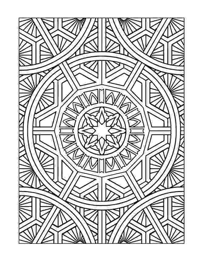 free design art coloring pages free printable geometric coloring pages for adults pages design coloring art free