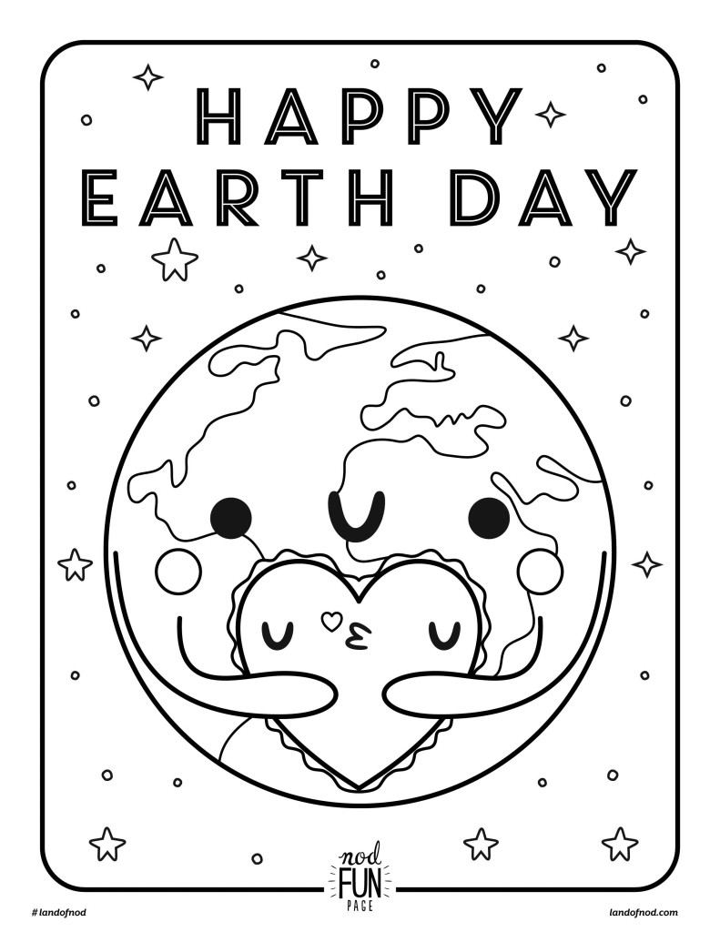 free downloadable coloring pages free printable coloring page earth day cratekids blog downloadable free pages coloring
