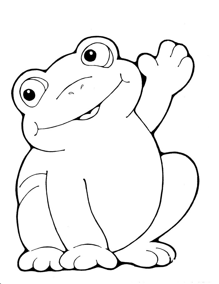 free frog coloring pages cute frog coloring pages free download best cute frog pages frog coloring free