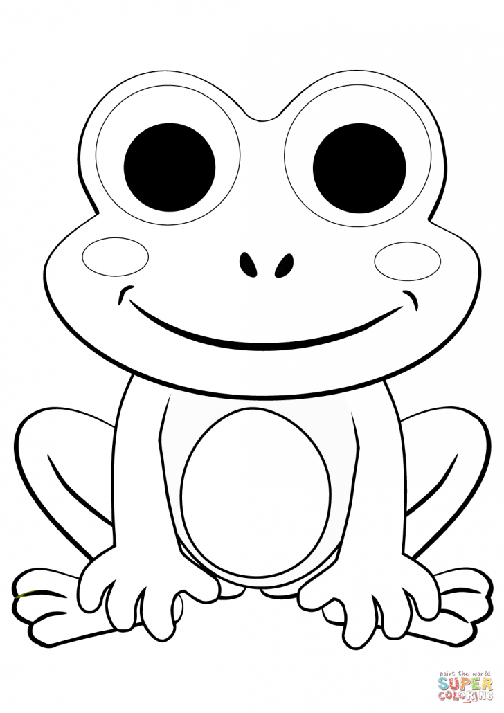 free frog coloring pages free printable frog coloring pages for kids free pages coloring frog