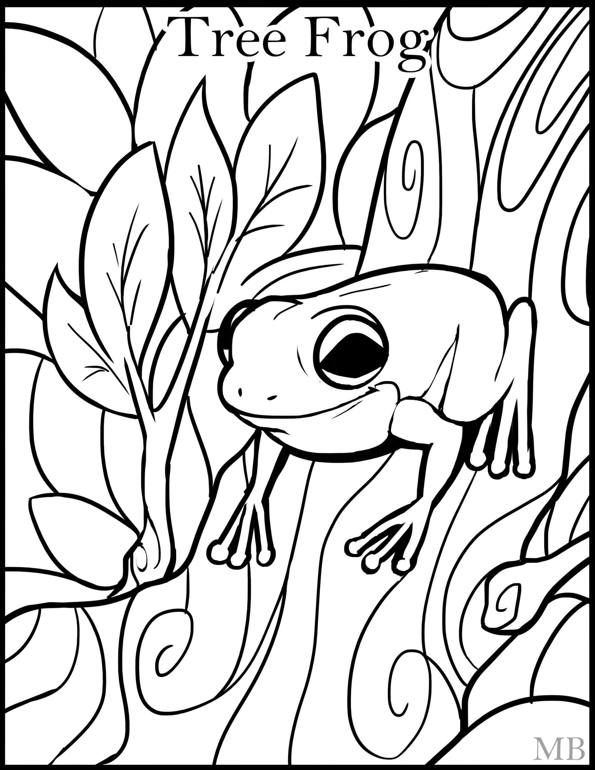 free frog coloring pages free printable frog coloring pages for kids frog coloring pages free