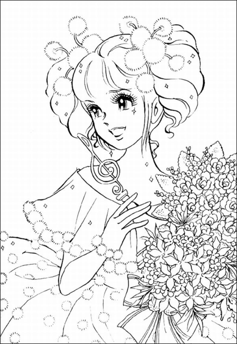 free girl coloring pages 8 anime girl coloring pages pdf jpg ai illustrator girl free pages coloring