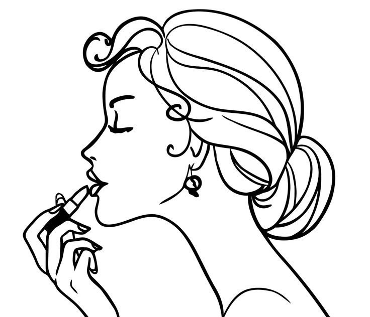 free girl coloring pages to print coloring girls coloring pages for girls makeup cosmetics free coloring girl print pages to