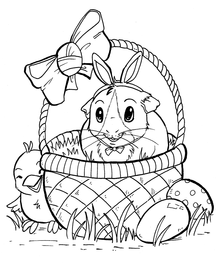 free guinea pig coloring pages cute guinea pig coloring online super coloring guinea free coloring pig pages