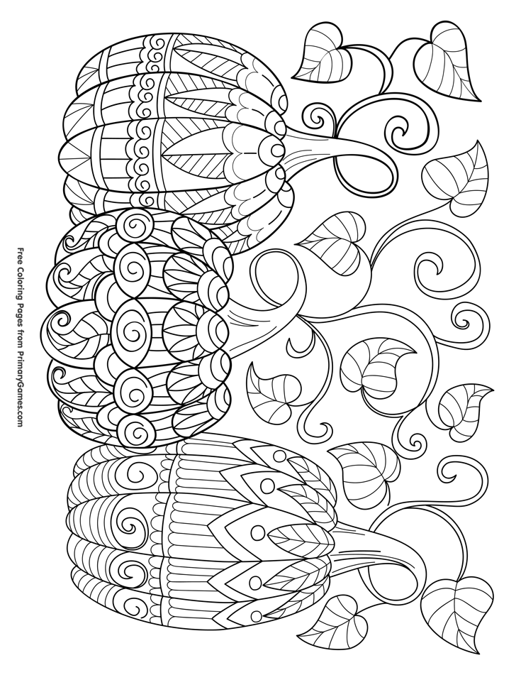 free halloween coloring sheets for adults halloween pumpkin and spider adult colouring page instant halloween adults for sheets coloring free