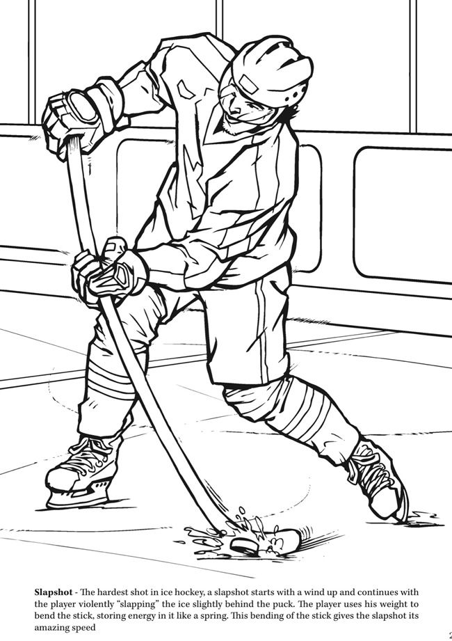 free hockey coloring pages goal the hockey coloring book dover publications coloring pages free hockey