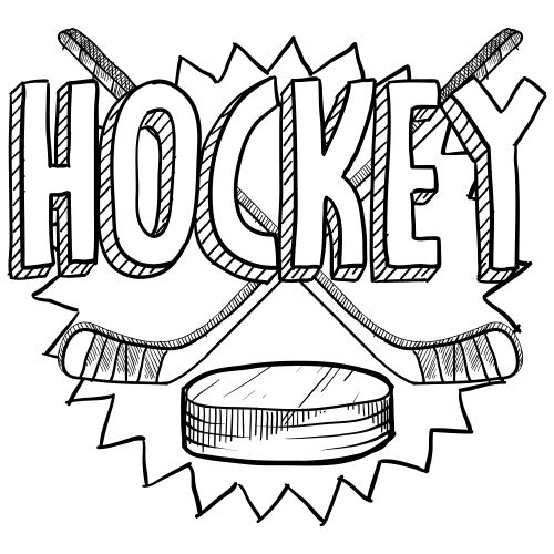 free hockey coloring pages hockey coloring page hockey hockey drawing hockey coloring pages hockey free