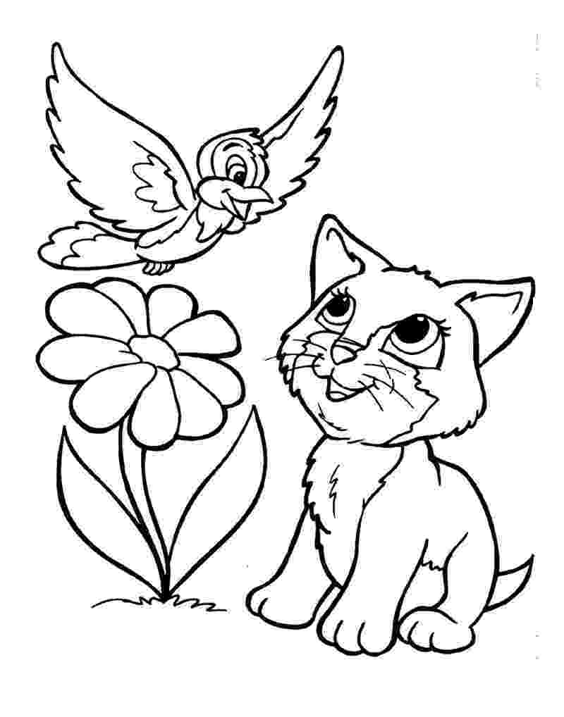 free kitten coloring pages free printable cat coloring pages for kids coloring free pages kitten