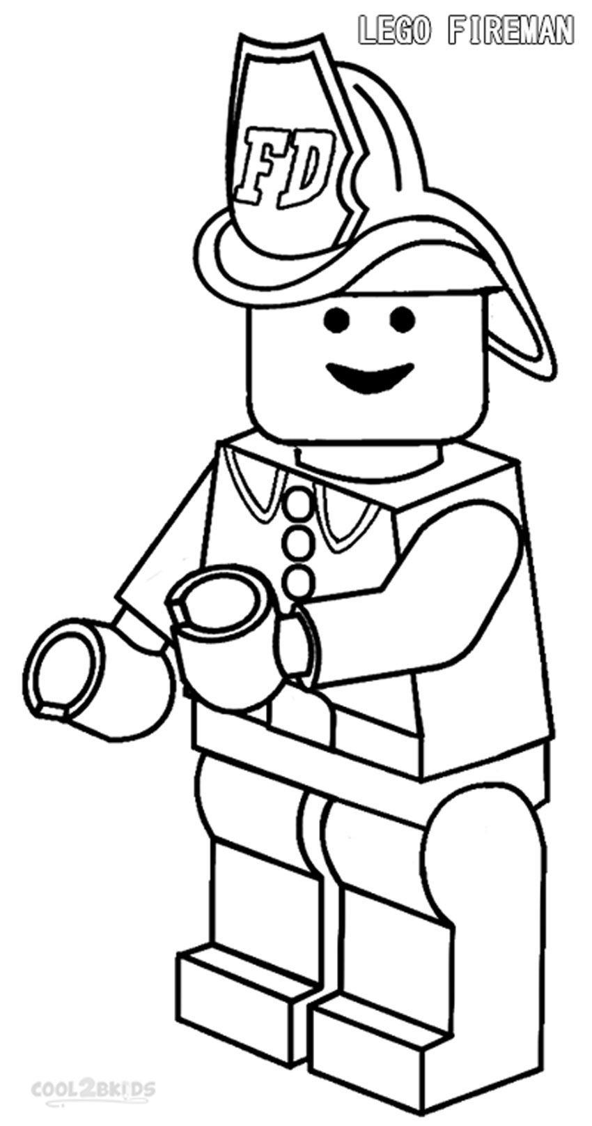free lego coloring pages to print free printable fireman coloring pages cool2bkids pages print free to lego coloring