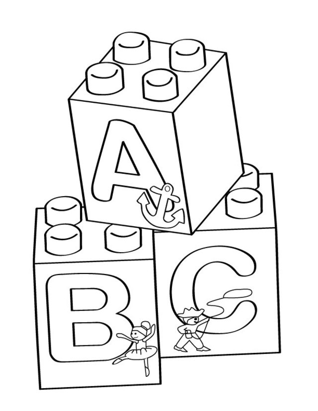 free lego coloring pages to print lego a b c blocks coloring page free printable coloring free lego to print pages coloring