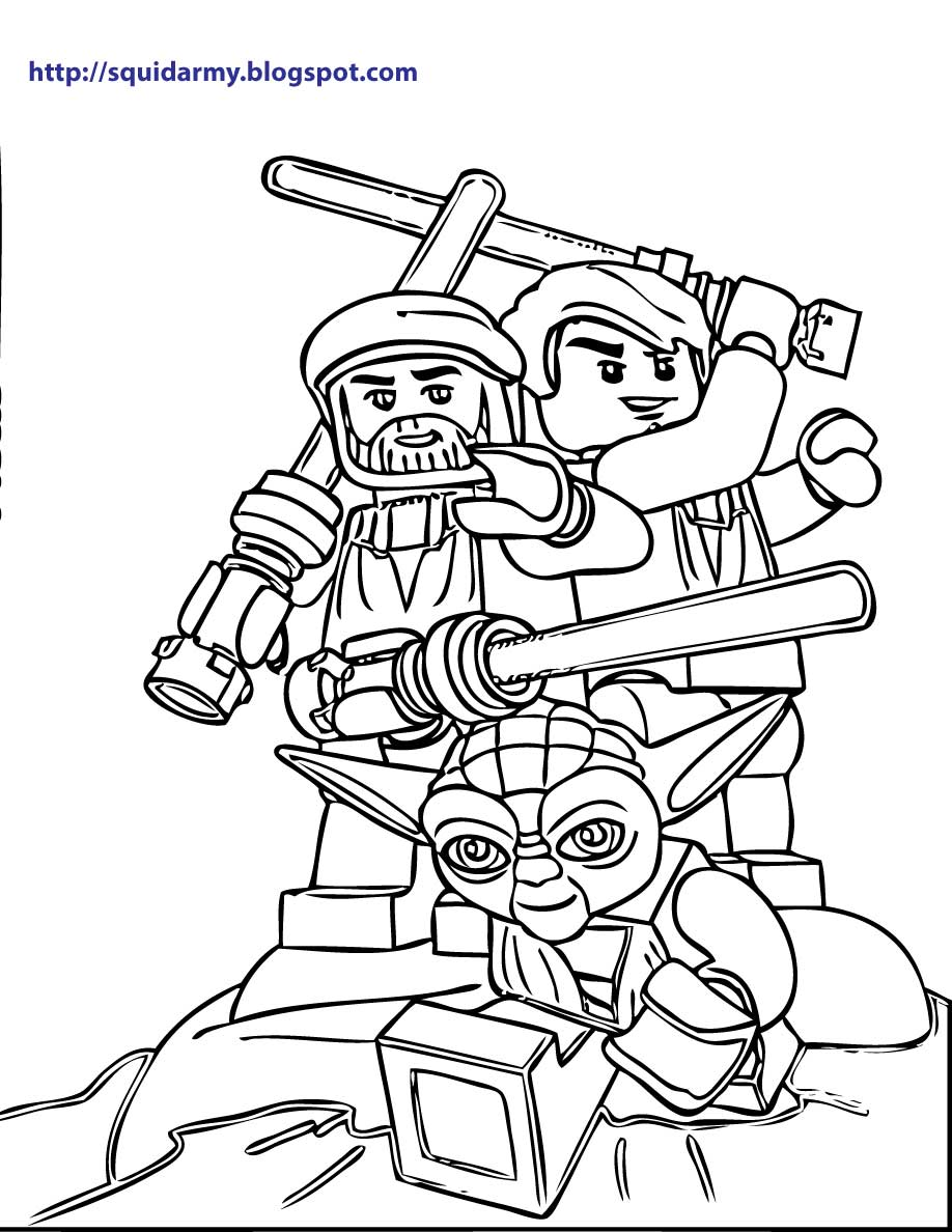 free lego star wars printables lego star wars coloring pages squid army free printables star lego wars
