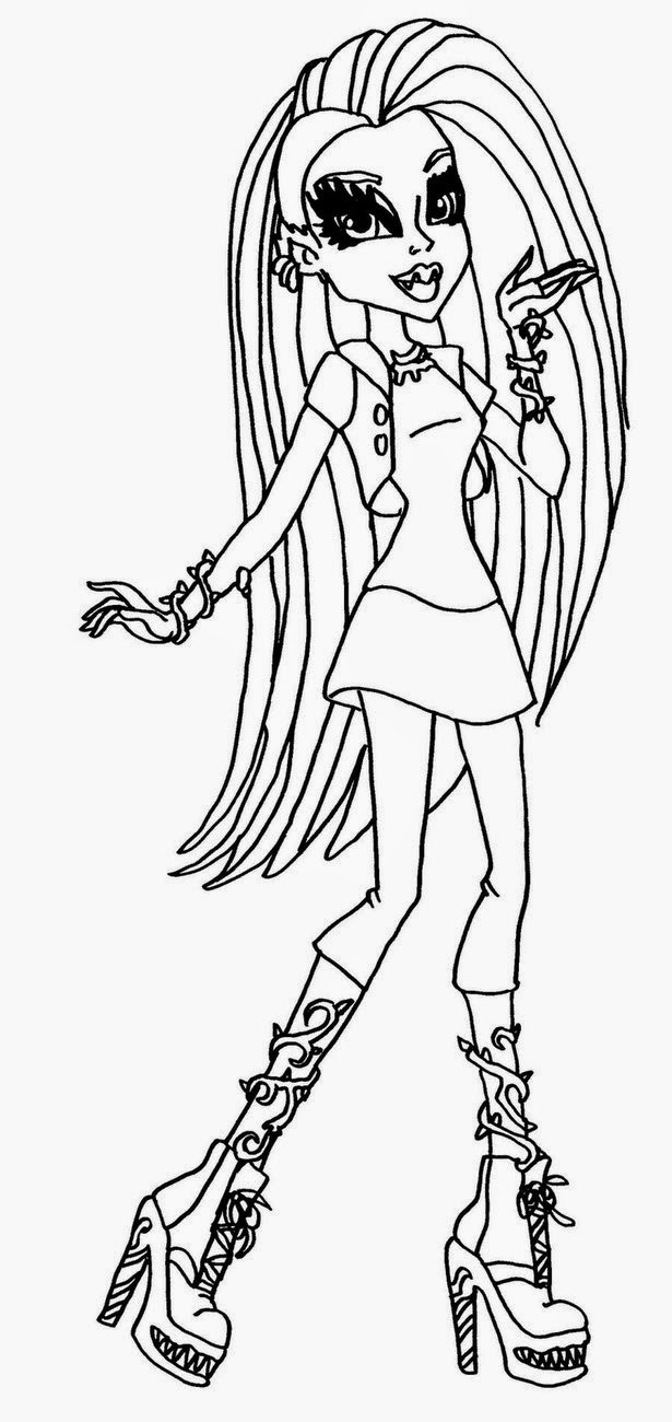 free monster high coloring pages to print coloring pages monster high coloring pages free and printable high to pages print monster coloring free