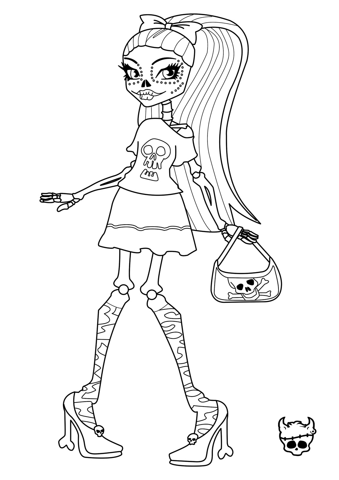 free monster high coloring pages to print monster high jinafire long coloring pages free printable free high print coloring monster pages to