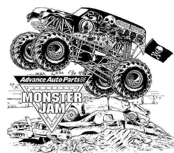 free monster truck coloring pages to print free monster truck coloring pages third birthday print pages coloring to monster free truck