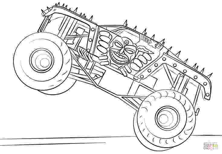 free monster truck coloring pages to print monster jam scooby doo monster truck coloring pages free pages truck print to coloring monster