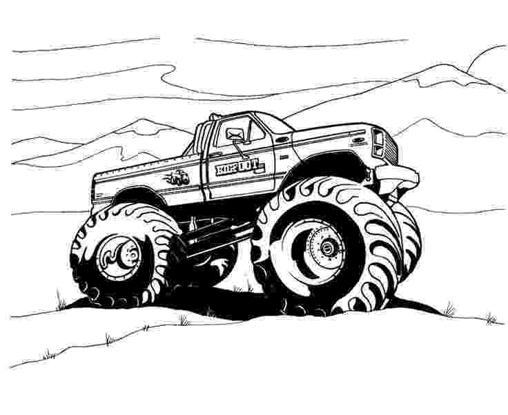 free monster truck coloring pages to print monster trucks printable coloring pages all for the boys monster free to pages print coloring truck