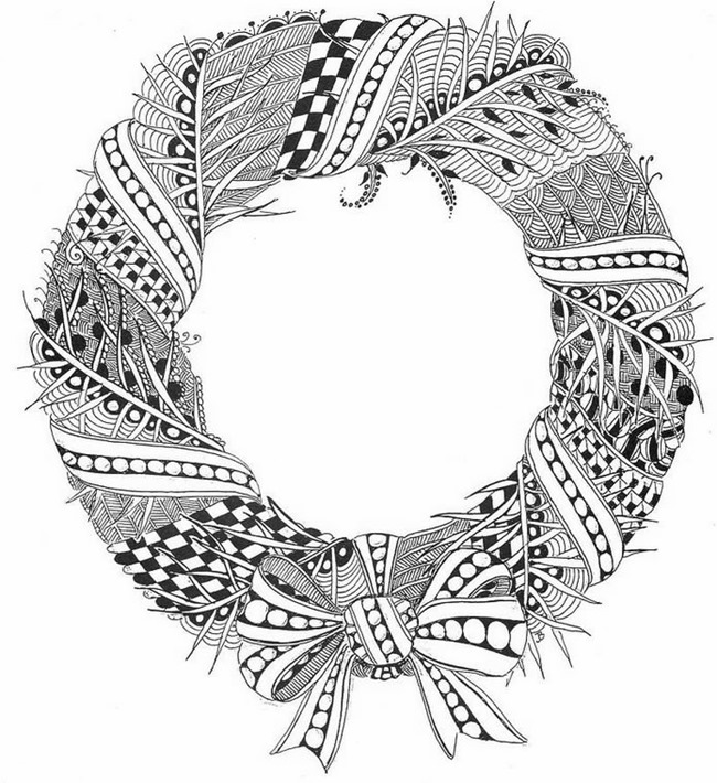free online coloring pages for adults christmas a crowe39s gathering here is a new holiday free coloring online for coloring pages christmas adults free