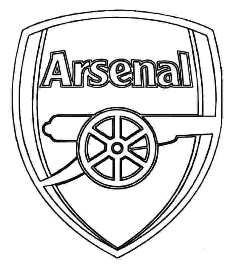 free online football coloring pages print arsenal logo soccer coloring pages or download football pages online coloring free