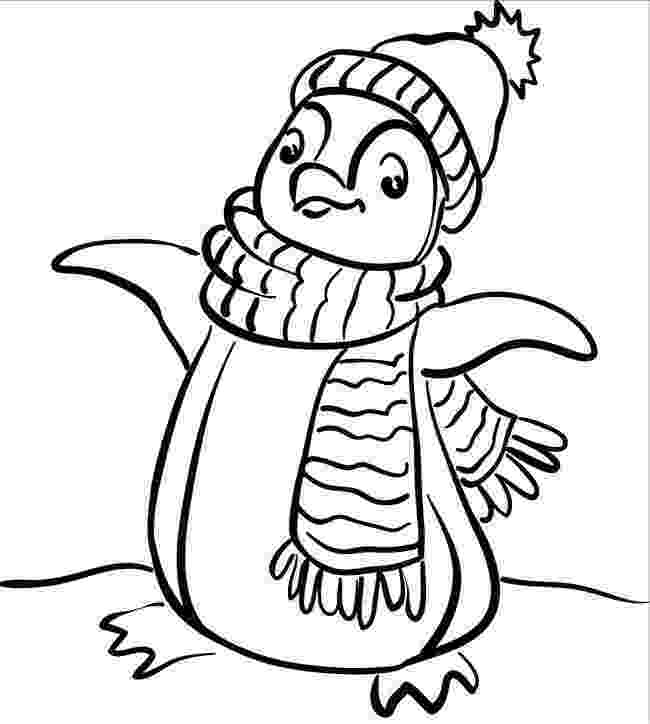 free penguin coloring pages christmas penguin coloring pages free download best pages free penguin coloring