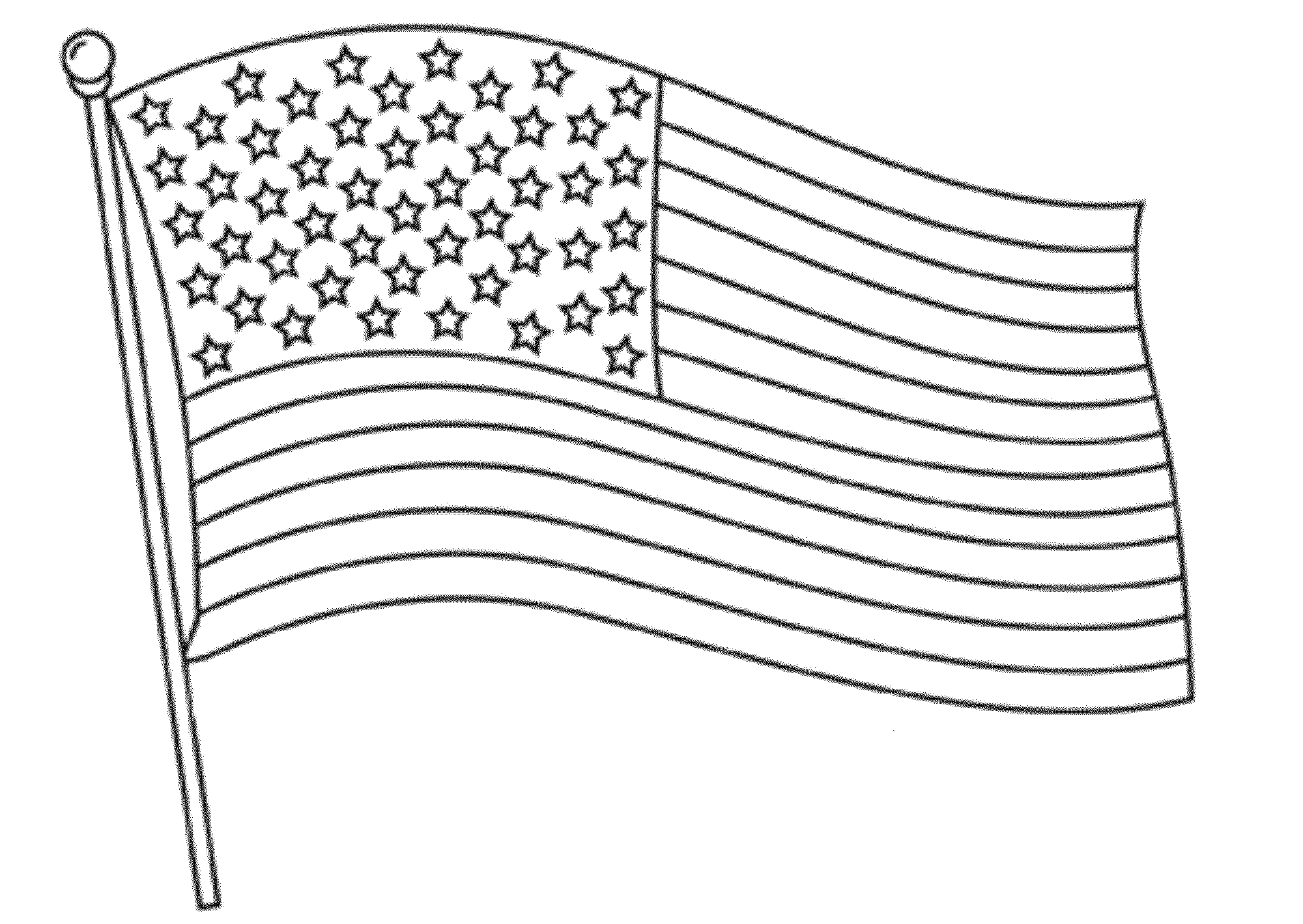 free printable american flag coloring sheets waving american flag 7e53 coloring pages printable sheets coloring printable flag free american