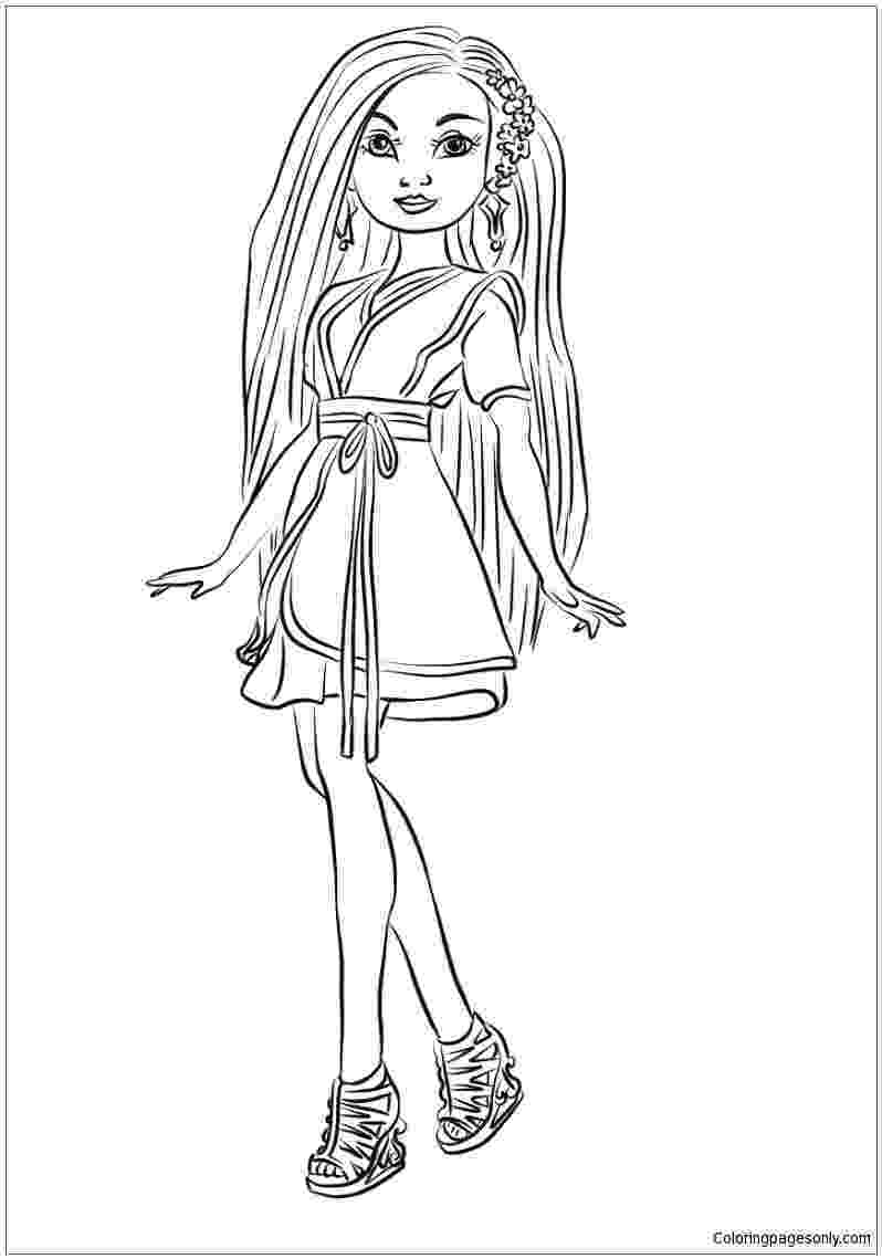 free printable coloring pages disney descendants descendants 2 printable coloring pages disneyclipscom free disney printable pages coloring descendants
