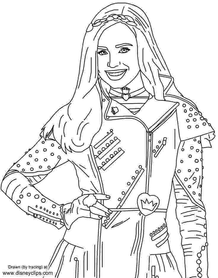 free printable coloring pages disney descendants disney descendants free coloring pages coloring pages disney descendants pages printable free coloring