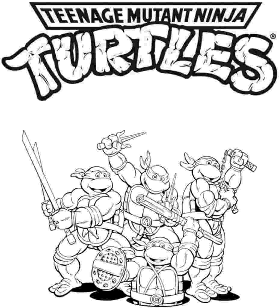 free printable coloring pages ninja turtles coloring pages teenage mutant ninja turtles coloring pages turtles pages coloring printable free ninja