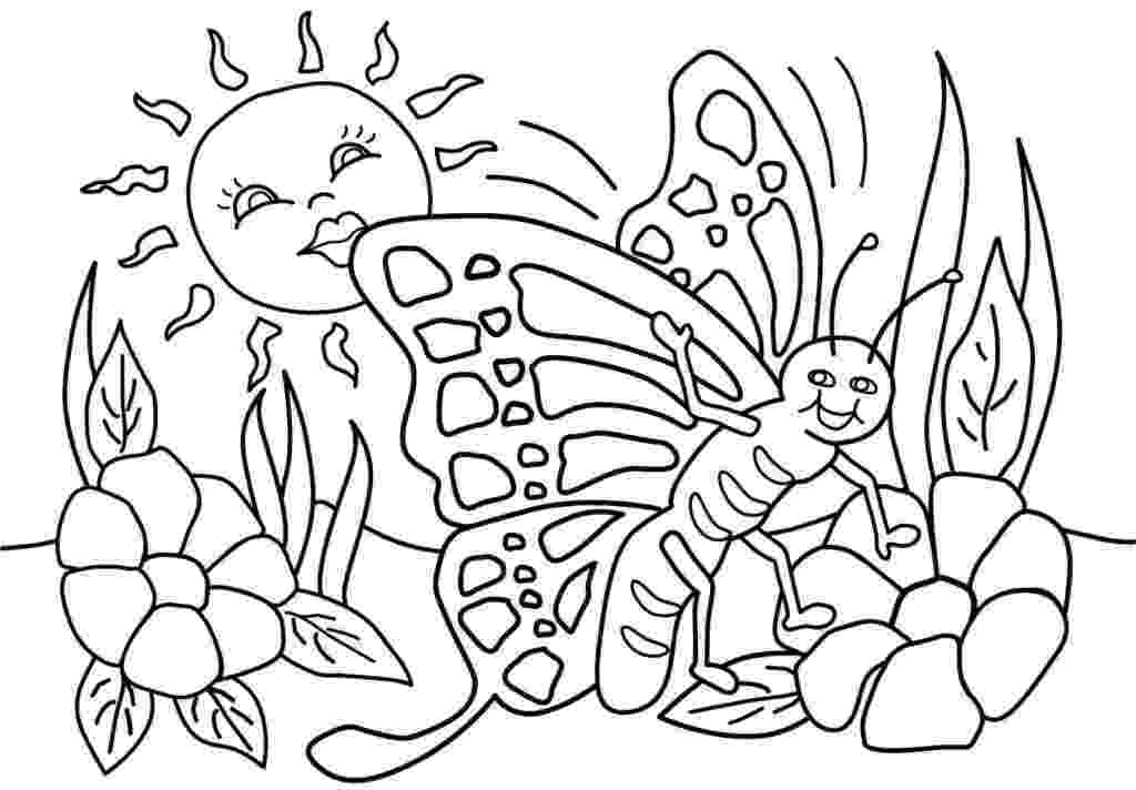 free printable coloring pictures of spring spring coloring sheets pdf coloring pages coloring spring of pictures free printable