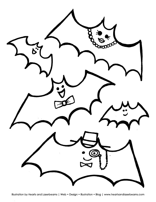 free printable halloween coloring pages bats bat coloring pages getcoloringpagescom bats printable free halloween coloring pages